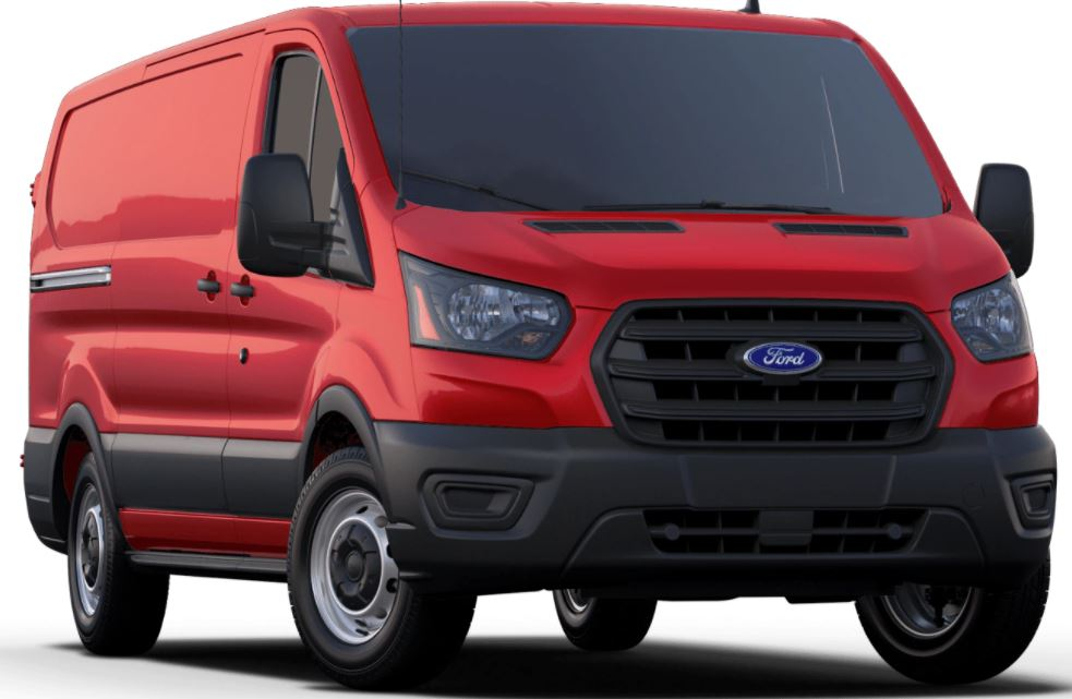 2020 Ford Transit Race Red