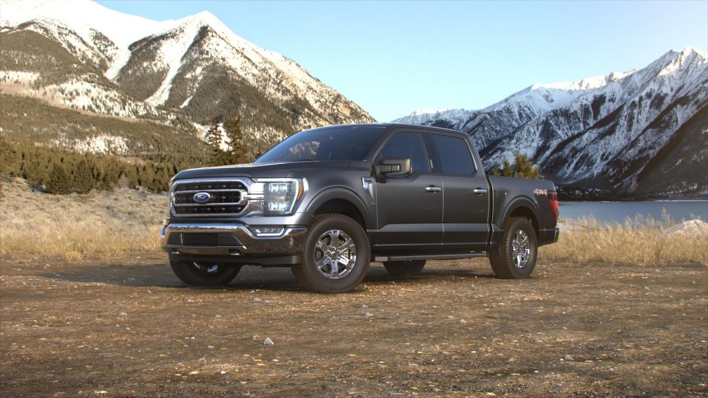 2021 Ford F-150 Carbonized Gray
