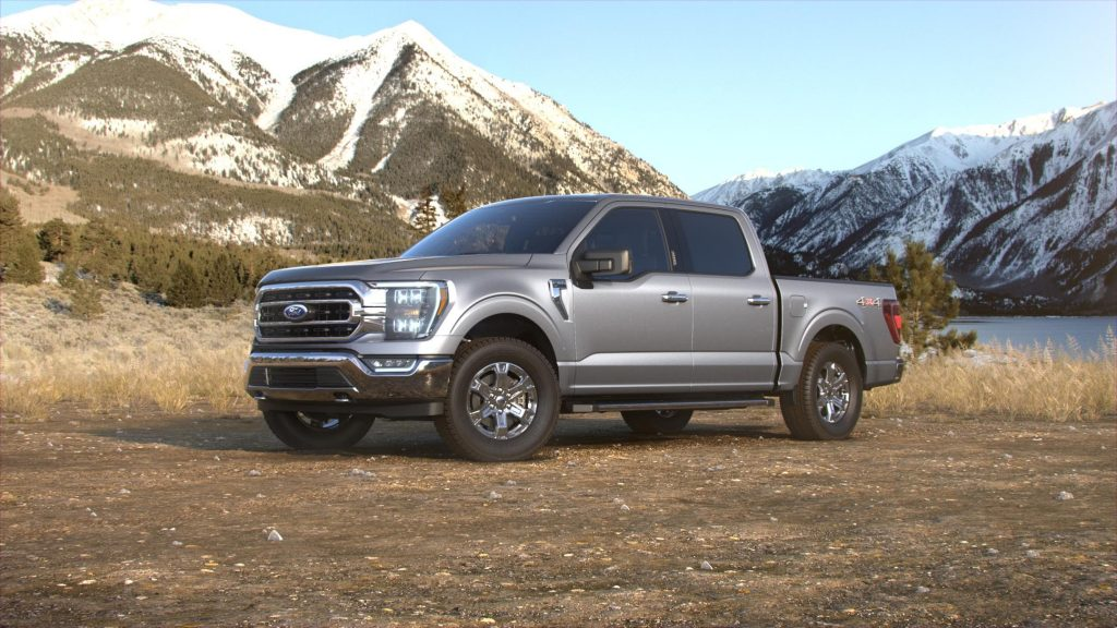 2021 Ford F-150 Iconic Silver