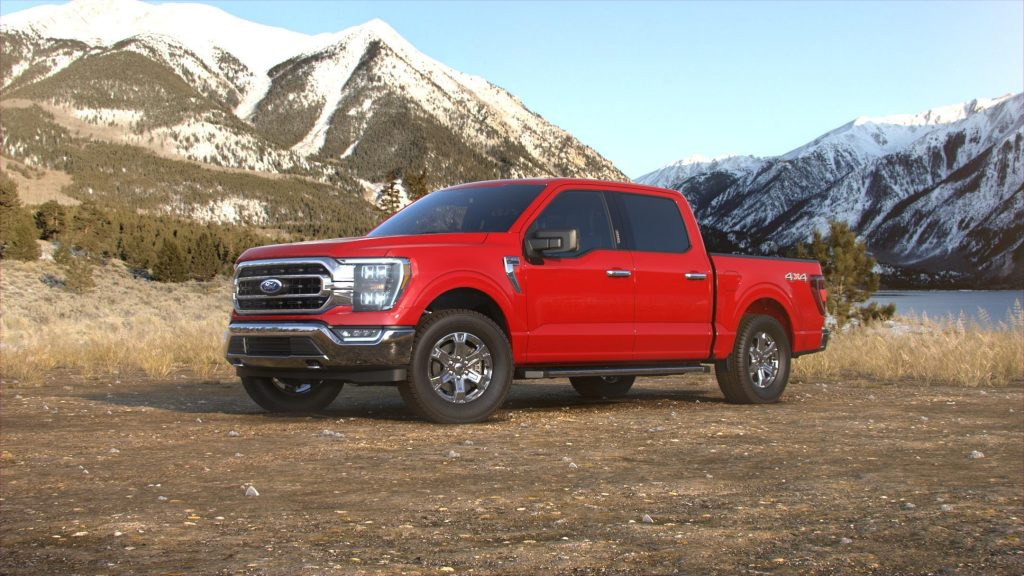 2021 Ford F-150 Race Red