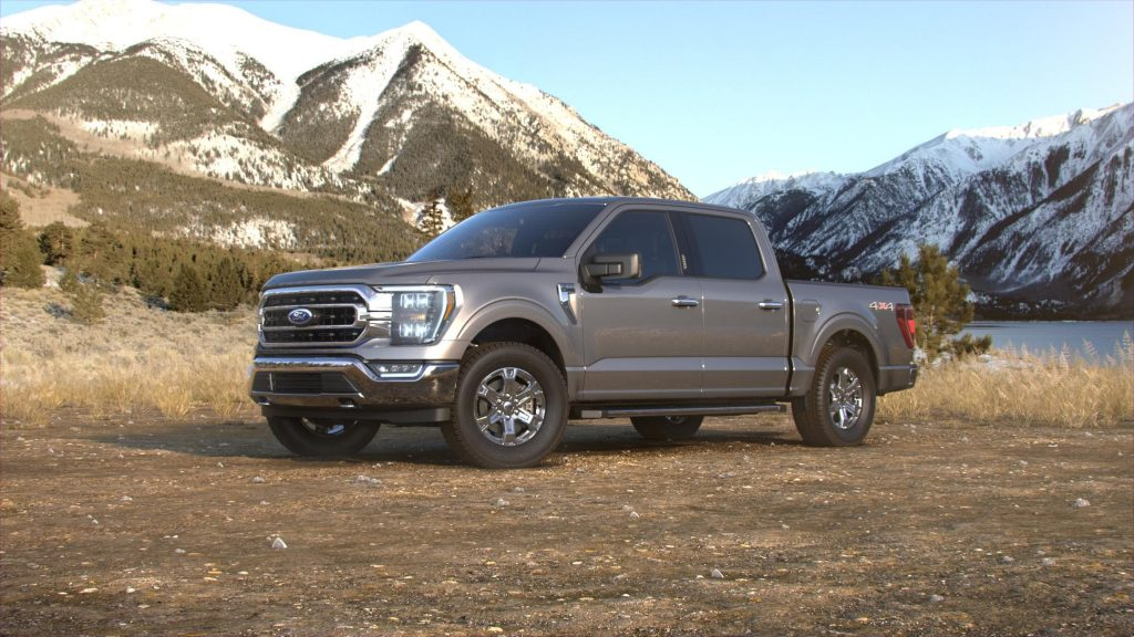 2021 Ford F-150 Stone Gray