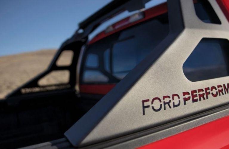2020 Ford Ranger exterior rear view