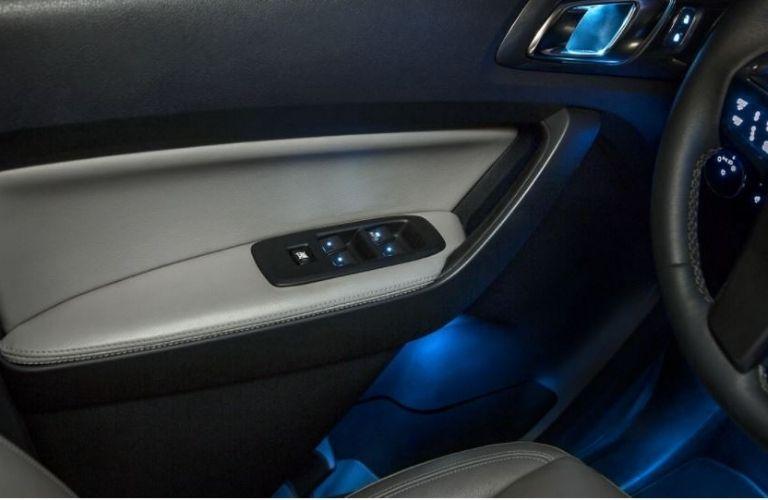 2020 Ford Ranger interior door view