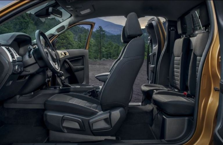 2020 Ford Ranger interior side view