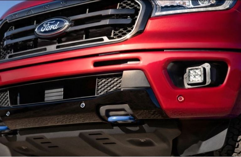 2020 Ford Ranger parked front view