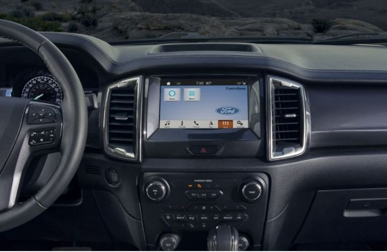 2020 Ford Ranger touchscreen display