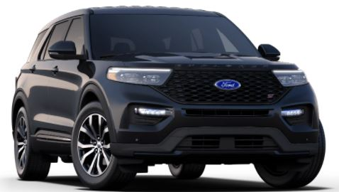2021 Ford Explorer Agate Black