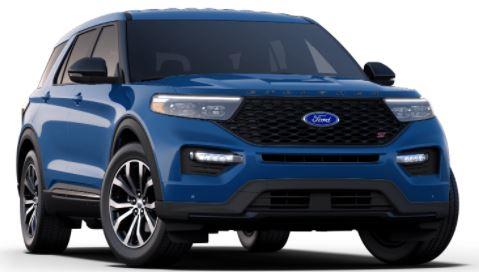 2021 Ford Explorer Atlas Blue