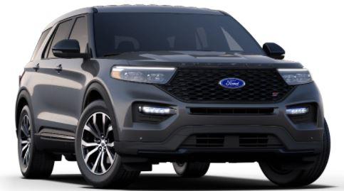 2021 Ford Explorer Carbonized Gray