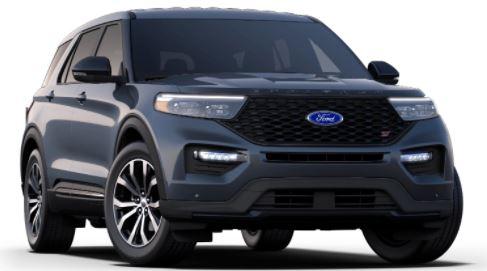 2021 Ford Explorer Infinite Blue