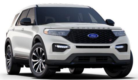 2021 Ford Explorer Star White
