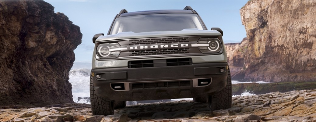 2021 Ford Bronco Sport front view