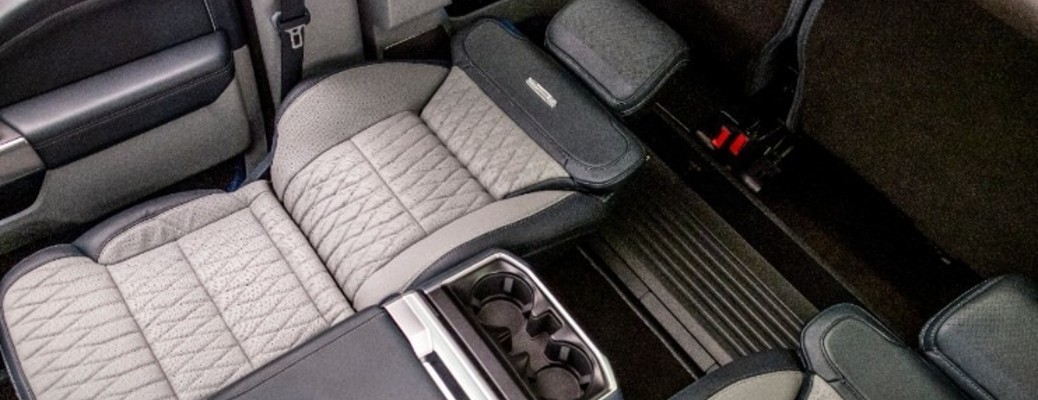 2021 Ford F-150 max recline seats