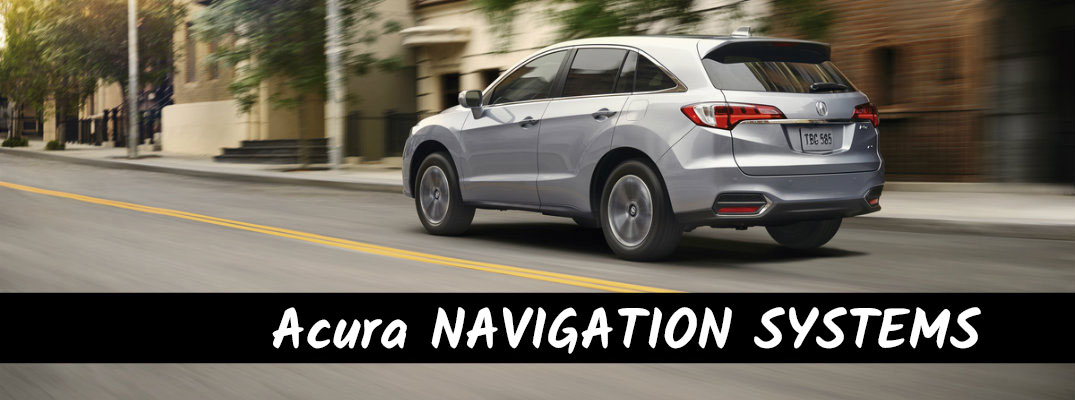 HowTo Operate Acura Navigation Systems - In acura com