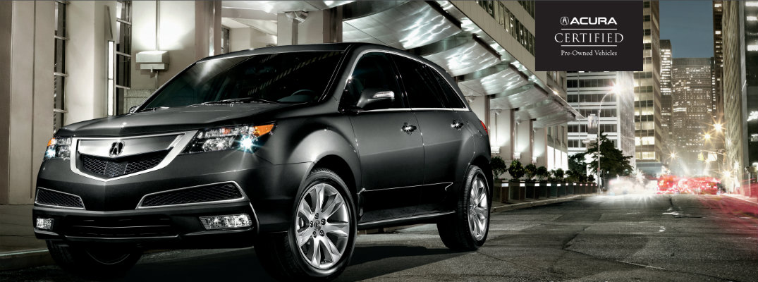 Acura Certified Pre-Owned cars near Pittsburgh