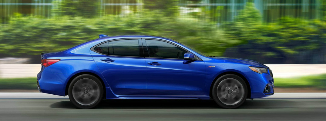 What packages can you get for the 2018 Acura TLX?