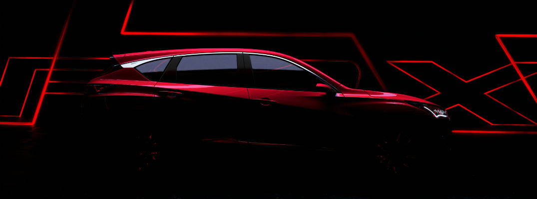 A photo illustration of what the new Acura RDX prototype may look like