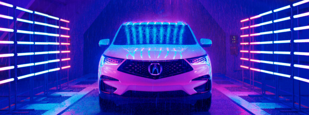A photo of the 2019 Acura RDX going through some testing prior to launch.