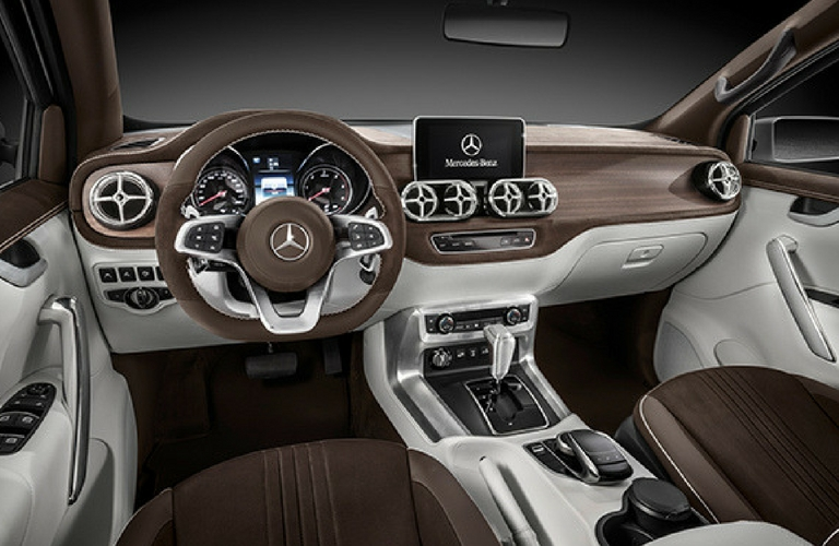 Lovely Mercedes Benz X Class Interior Styling