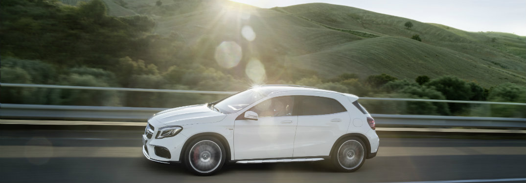 2018 Mercedes-Benz GLA on the road