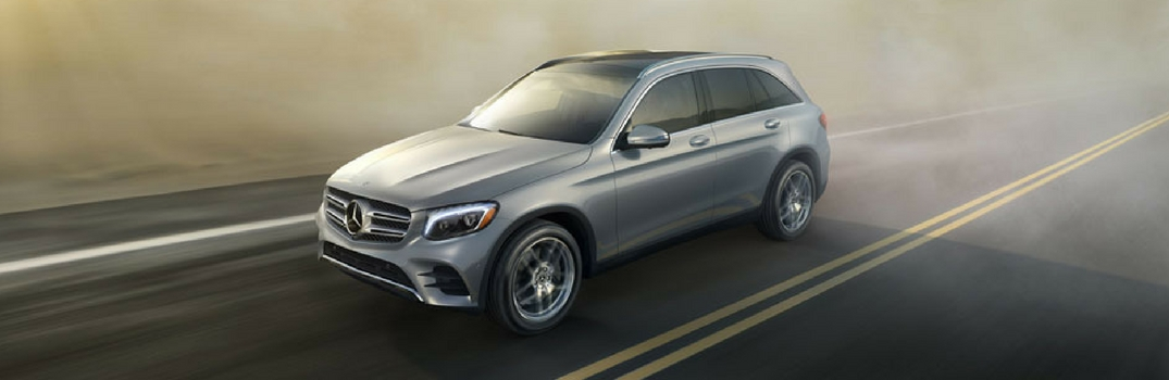 2019 MB GLC 300 on the road