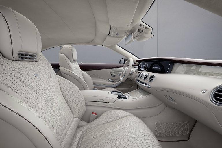 2019 Mercedes Benz S Class Exclusive Edition Interior White O