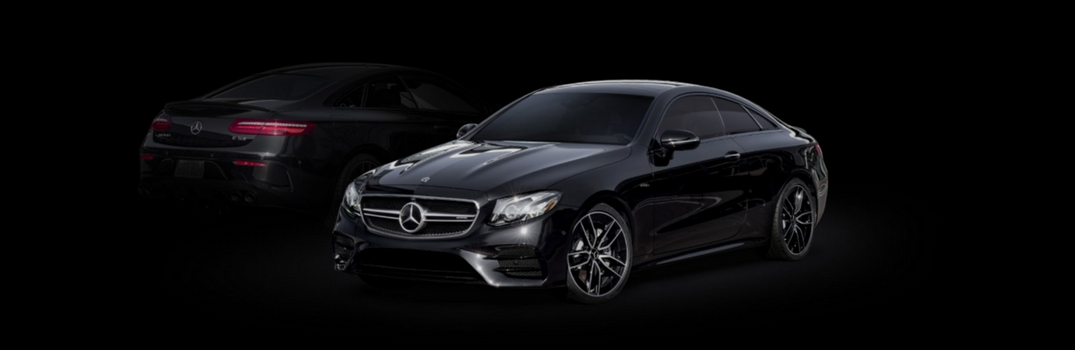 2019 Mercedes-Benz CLS Coupe on black background