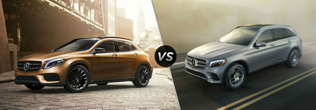 What's the Differnce Between the 2018 Mercedes-Benz GLA & GLC?