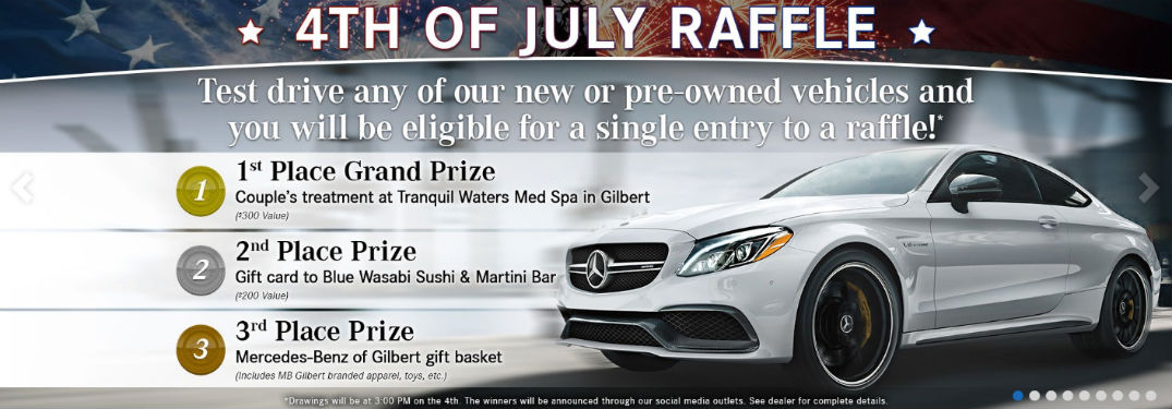 2018 Fourth of July Spa Day Giveaway in Gilbert, AZ