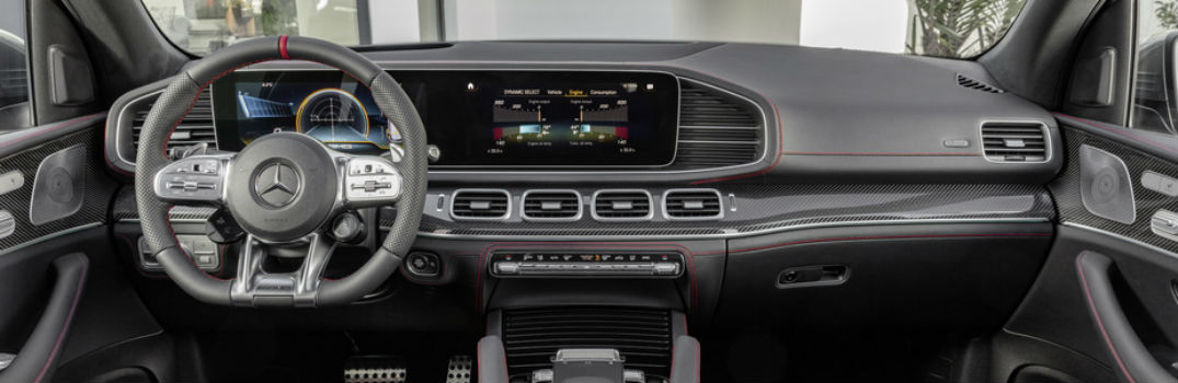 2019 Mercedes-Benz GLE front interior
