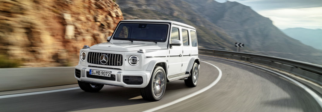 Complete interior and exterior look at the 2019 Mercedes-Benz G-Class SUV