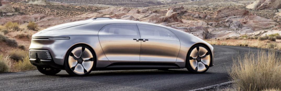 exterior profile of the Mercedes-Benz F 015 concept