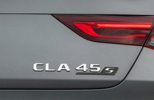badging on the 2020 Mercedes-Benz AMG CLA 45