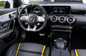 2020 AMG CLA 45 Coupe front interior