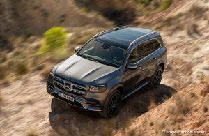 2020 Mercedes-Benz GLS exterior profile