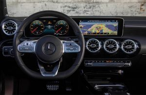 2020 MB A-Class front interior