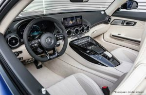 2020 MB AMG GT front interior
