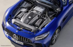 2020 MB AMG GT under the hood
