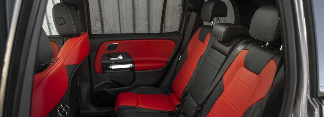 2020 MB GLB interior seating