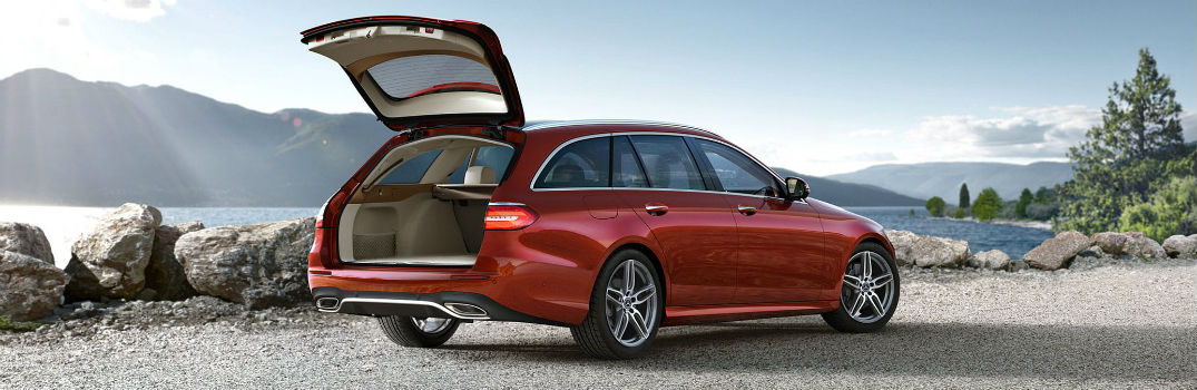 How much space is in the 2021 E-Class wagon?