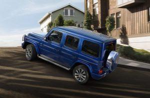 2020 Mercedes-Benz G-Class exterior profile