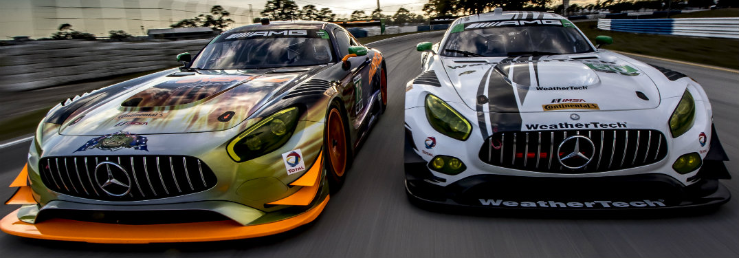 What is the top speed of the Mercedes-AMG GT3?