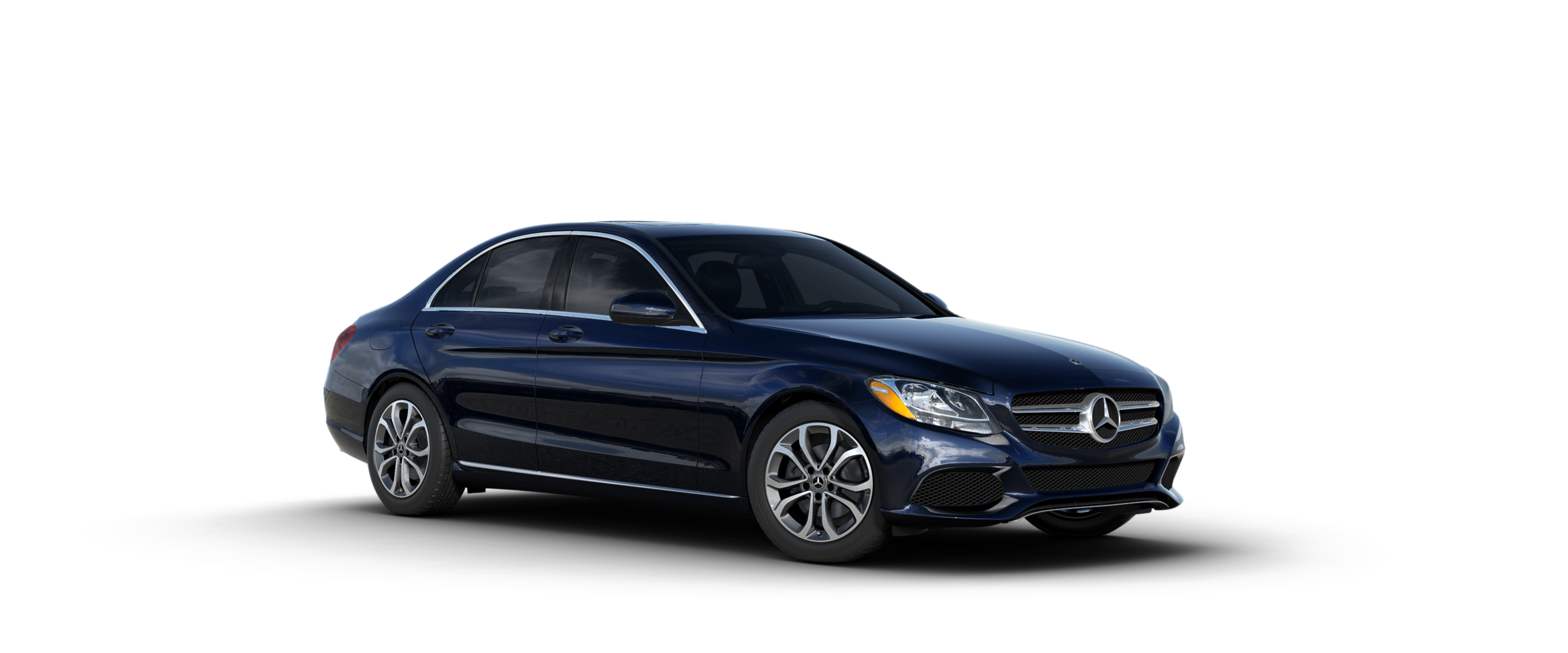 What colors are available for the 2018 mercedes benz c class for Mercedes benz lunar blue