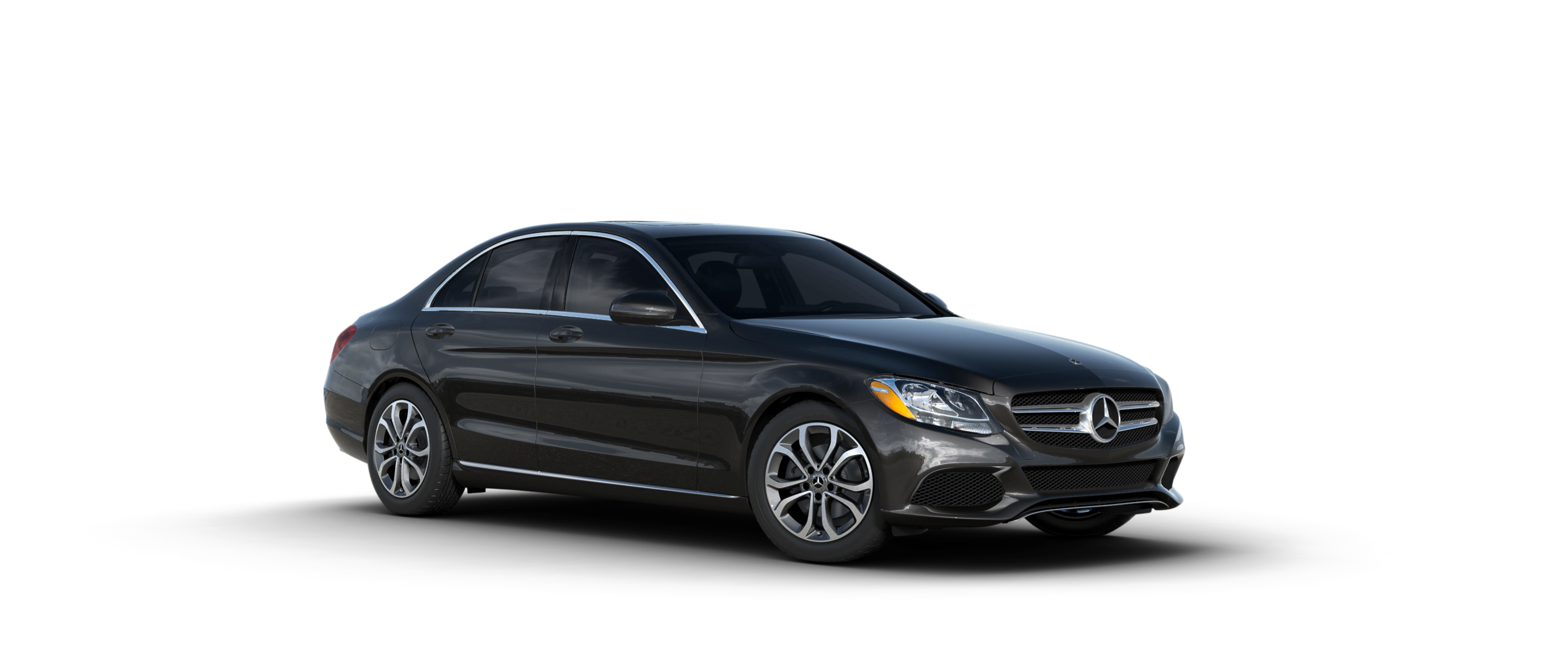 Color options for the 2018 mercedes benz c class sedan for Black mercedes benz c class
