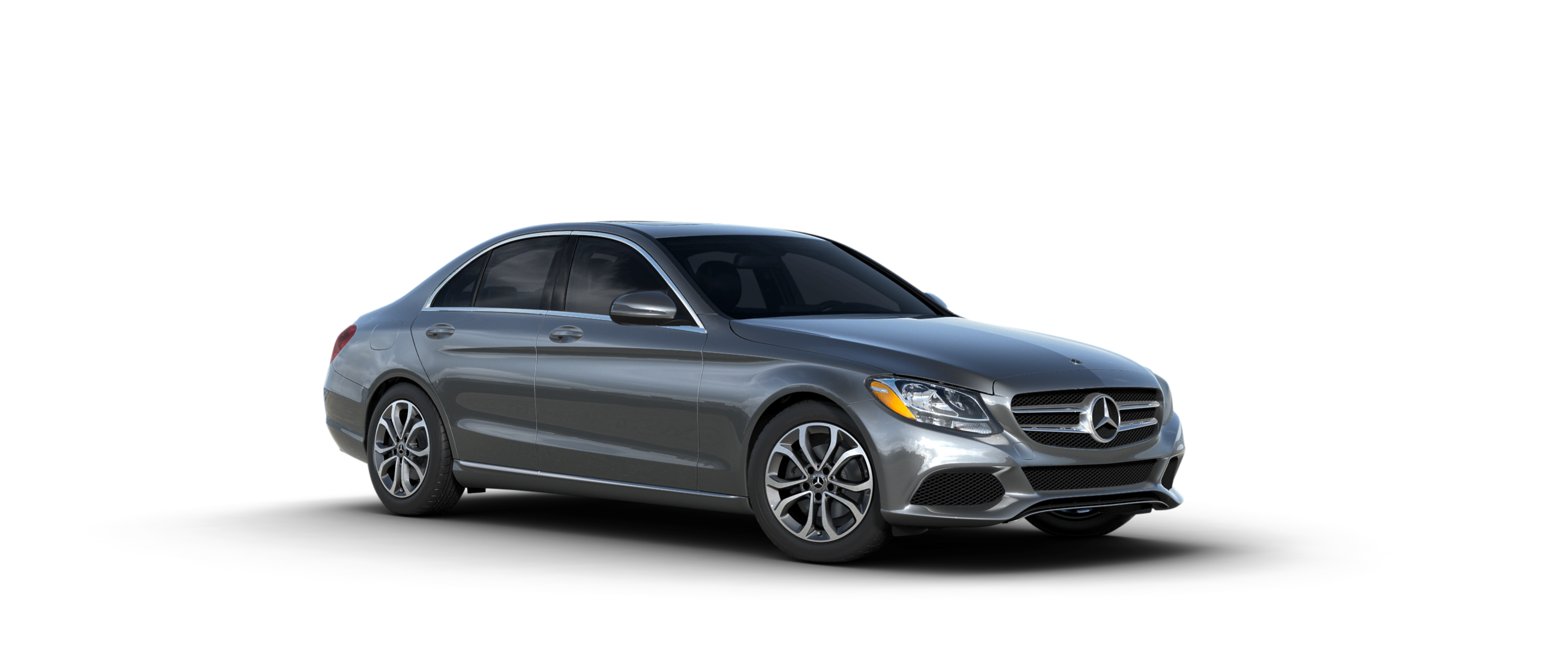 Color options for the 2018 mercedes benz c class sedan for Mercedes benz c class sedan