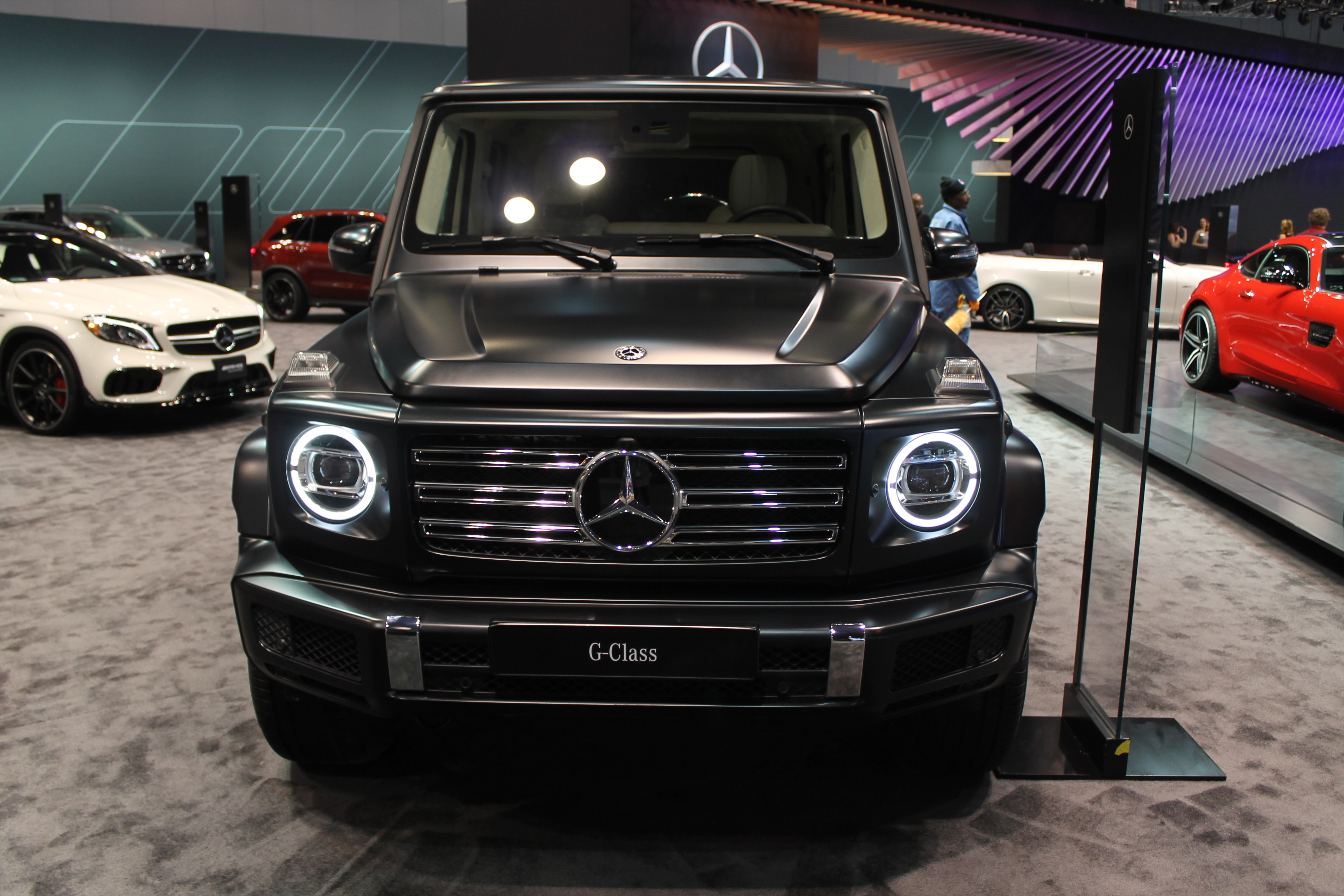 Exclusive photos of 2019 mercedes benz g class at the for Mercedes benz gclass