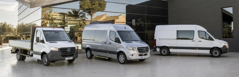 New Mercedes-Benz Sprinter lineup