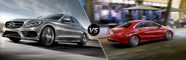 2018 Mercedes-Benz C-Class vs 2018 Mercedes-Benz CLA