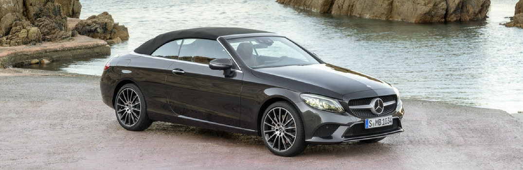 2019 Mercedes-Benz C-Class Cabriolet with top up