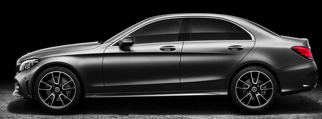 What colors are available for the 2019 Mercedes-Benz C-Class?